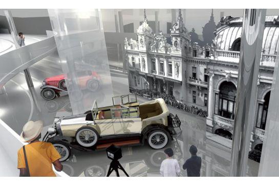 MUSÉE AUTOMOBILE DE LA DARSE NORD À MONACO